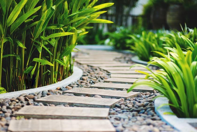 Weg im Garten
